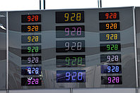 Часы вторичные электронные настенные «Standing 73».