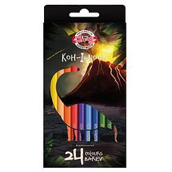 Koh-I-Noor Цветные Карандаши «Бронтозавр», 24 цвета