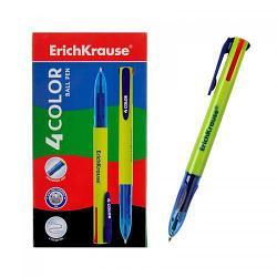 Erich Krause Шариковая ручка, 4 цвета