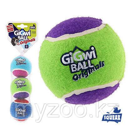 GigWi, ГигВи  Три мяча с пищалкой 6,3см