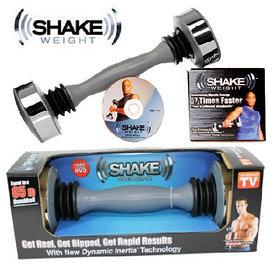 Тренажер гантеля  Shake Weight для мужчин. Вторая женскаяв подарок.
