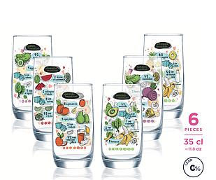 Набор стаканов Luminarc Vigne 350 мл (6 пр.)
