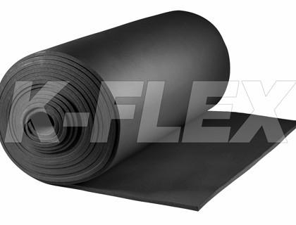 Теплоизоляция Рулон K-FLEX 06x1000-30 ST AD Россия- самоклеющаяся 6 мм