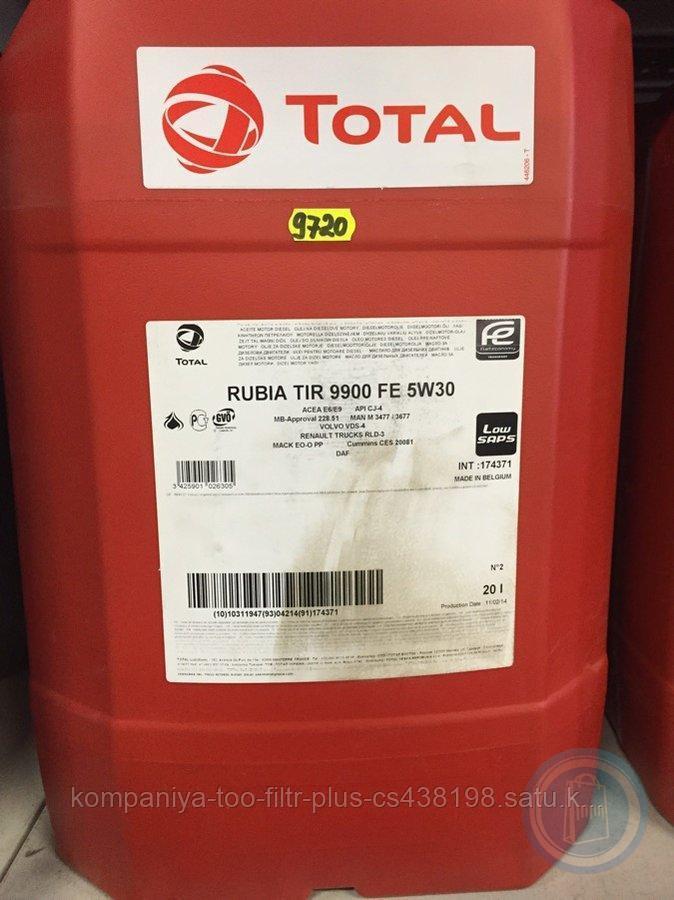 Total RUBIA 9900 FE 5W-30 20л