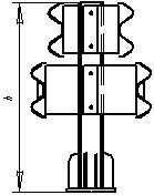 Мостовые ограждения барьерные 11-МД-2,0-350 кДж У5