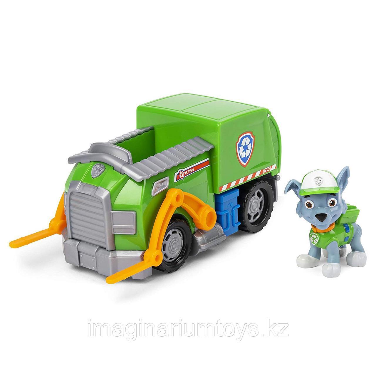 Рокки с мусоровозом игрушка Щенячий патруль