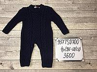 Вязанный слип для новорожденных (зима)