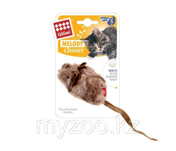 GigWi, ГигВи Мышка со звуковым чипом 10.см