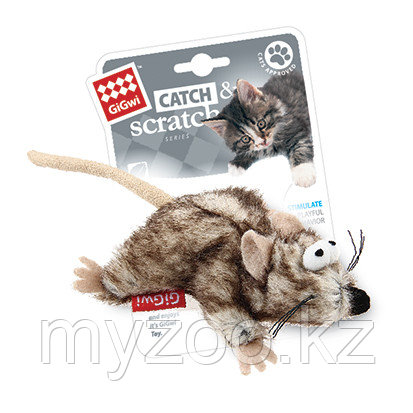 GigWi, ГигВи Мышка с кошачей мятой 8.см