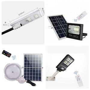 Светодиодное уличное освещение на солнечных батареях