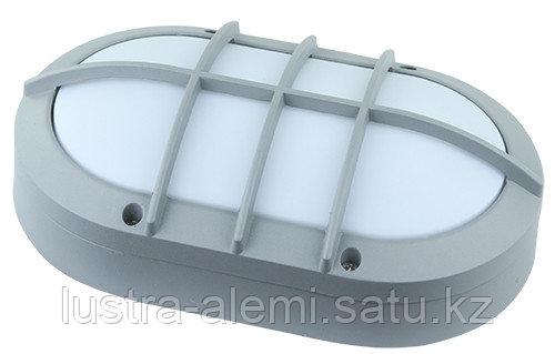Плафон Герметичный Овальный с решеткой 15вт SAT