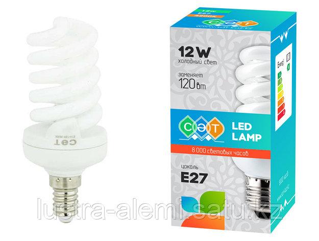 Лампа Спираль 13вт E14 Full, фото 2