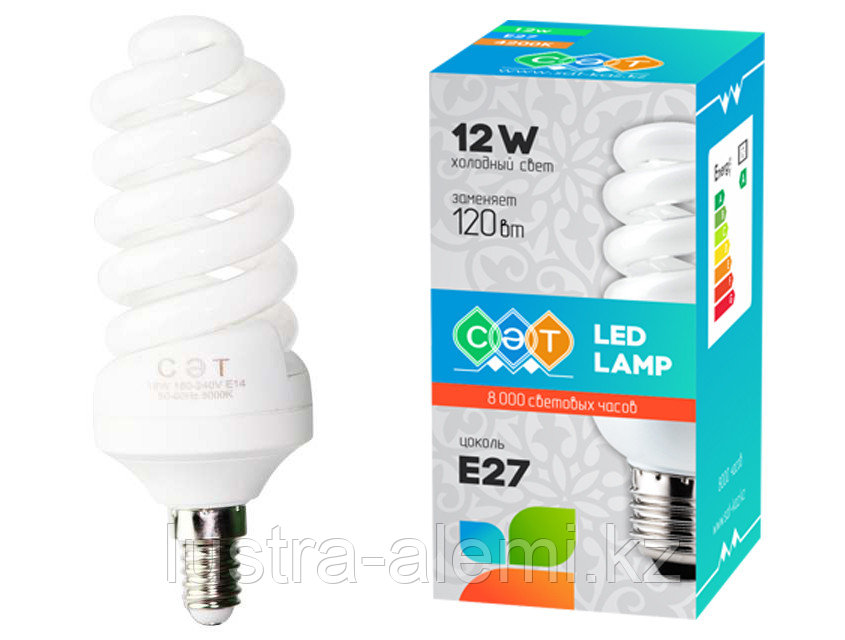 Лампа Спираль 18вт E14 Full - 2