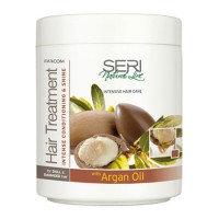 Маска Seri, с аргановым маслом, для поврежденных и тусклых волос, 1000 мл, Farcom
