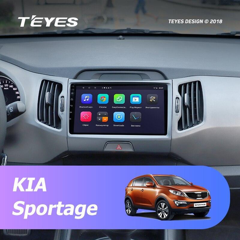 Штатная магнитола Kia Sportage 3 Spro Teyes Android