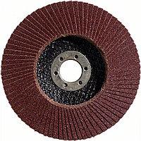 Круг лепестковый S.f Metal. BOSCH прям с/в д.125 К120 арт. 2608603719
