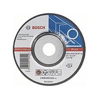 Обдирочный круг металл 125х6 мм BOSCH арт. 2608600223