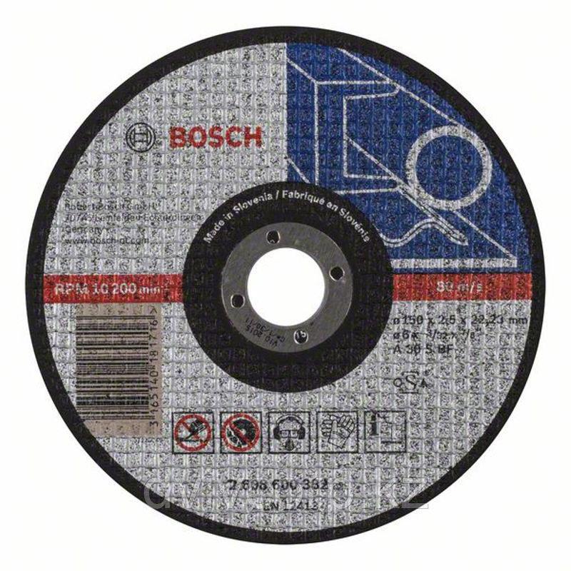 Круг отрезной по металлу 150х2,5 BOSCH арт. 2608600382