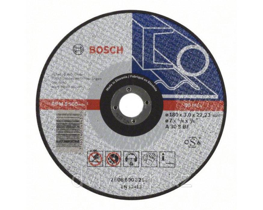 Круг шлифовальный по металлу 180х6 BOSCH арт. 2608600315