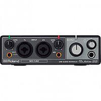 Внешняя звуковая карта с USB Roland Rubix22