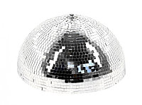 Зеркальная полусфера с мотором Showlight Half mirror ball 50 cm
