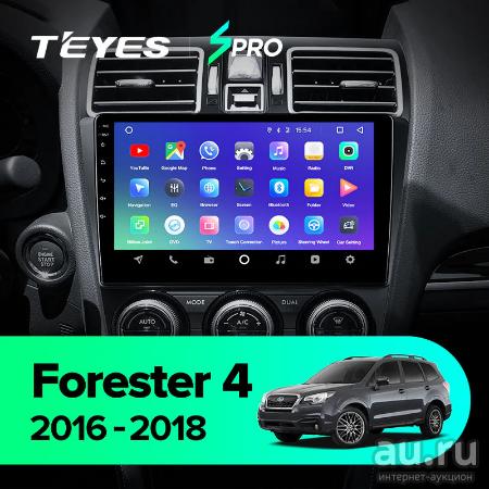 TEYES CC2 Штатная магнитола для Subaru Forester XV 4