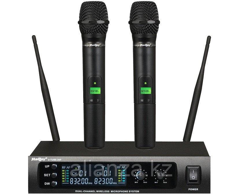 Радиосистема на два микрофона MadBoy U-TUBE 20P