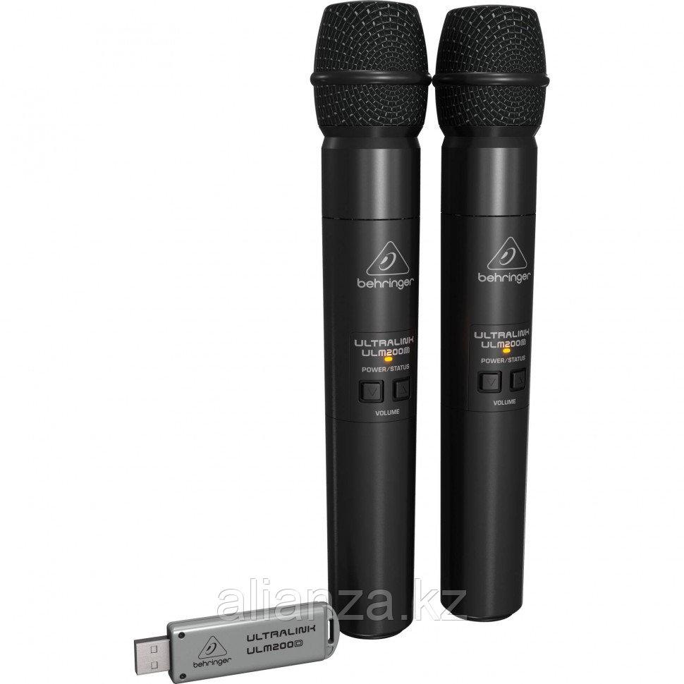 Радиосистема на два микрофона BEHRINGER ULM202-USB