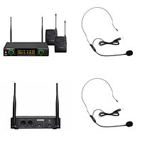 Радиосистема на два микрофона Volta US-2H (505.75/622.665)