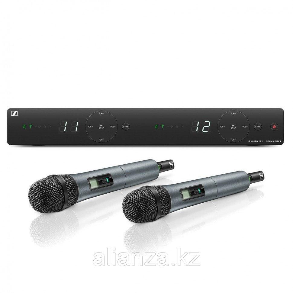 Радиосистема на два микрофона Sennheiser XSW 1-835 DUAL B