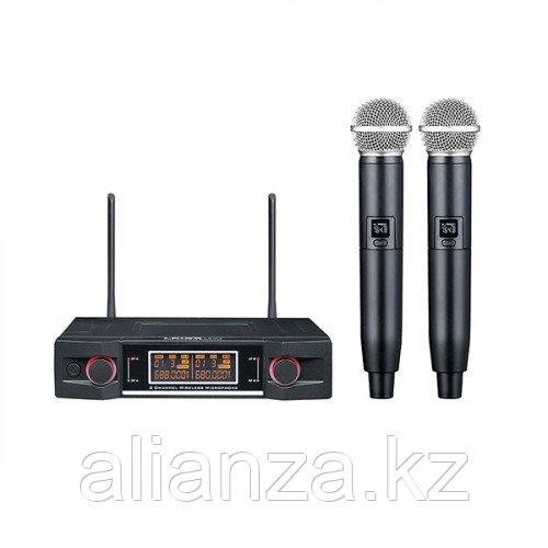 Радиосистема на два микрофона LAudio LS-P3-2M