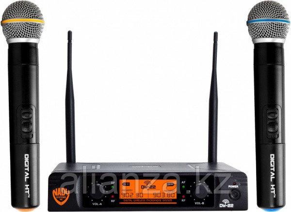 Радиосистема на два микрофона Nady DW-22 HT