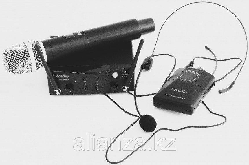 Радиосистема на два микрофона LAudio PRO2-MH