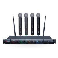 Радиосистема на четыре микрофона Volta US-4 (725.80/622.665/520.10/490.21)