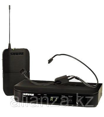 Радиосистема с оголовьем Shure BLX14E/P31 M17 662-686 MHz