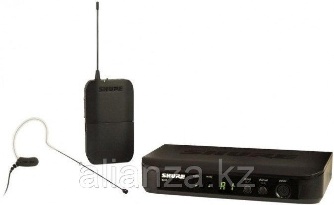 Радиосистема с оголовьем Shure BLX14E/MX53 M17 662-686 MHz