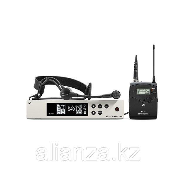 Радиосистема с оголовьем Sennheiser EW 100 G4-ME3-G