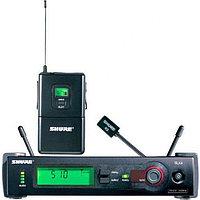 Радиосистема с петличным микрофоном Shure SLX14E P4 702-726 MHz