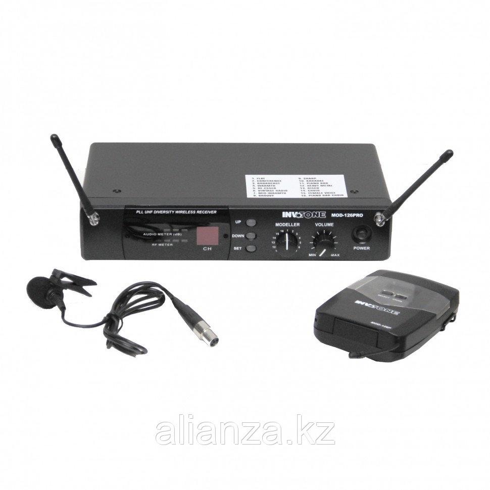 Радиосистема с петличным микрофоном Invotone MOD126LV