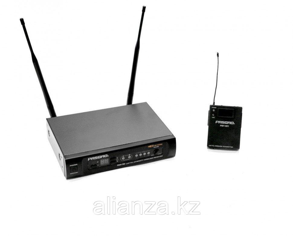Радиосистема с поясным передатчиком PASGAO PAW760/PBT901 655-679 MHz