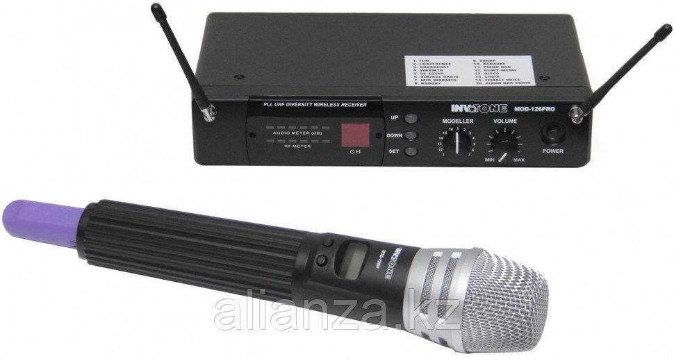 Радиосистема с ручным передатчиком Invotone MOD126HH