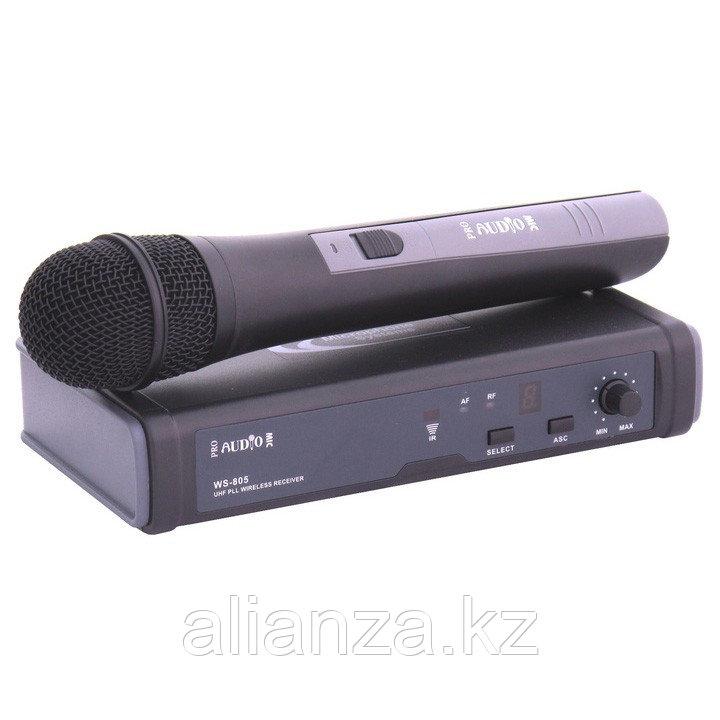 Радиосистема с ручным передатчиком ProAudio WS-805HT