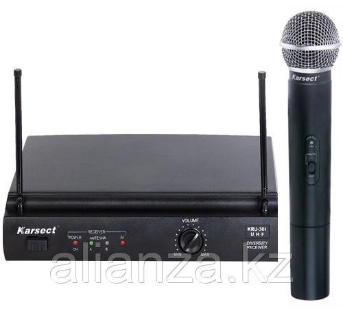 Радиосистема с ручным передатчиком Karsect KRU-301/KST-5U