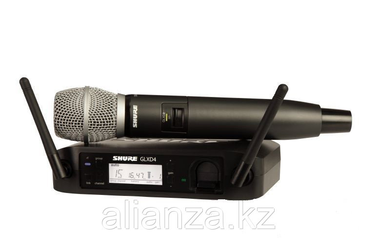 Цифровая радиосистема Shure GLXD24E/SM86 Z2 2.4 GHz