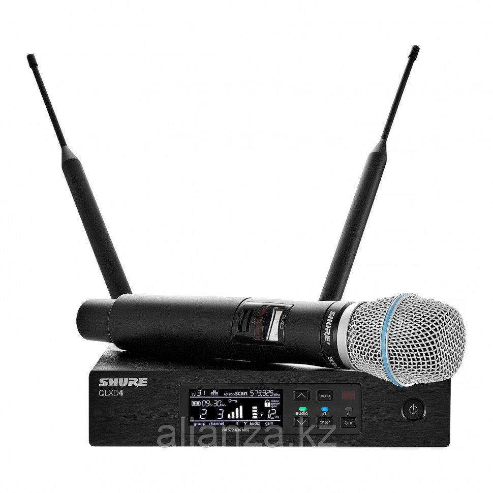 Цифровая радиосистема Shure QLXD24E/B87A G51