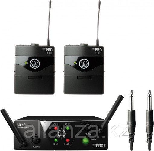 Радиосистема инструментальная универсальная AKG WMS40 Mini2 Instrumental Set US25AC
