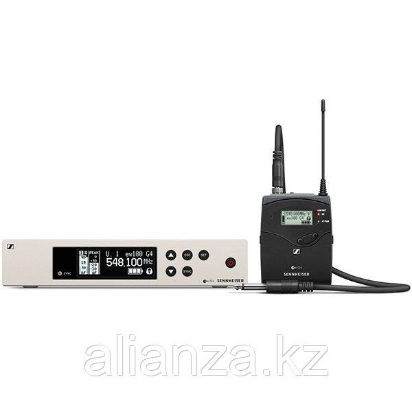 Радиосистема инструментальная для гитаристов Sennheiser EW 100 G4-CI1-G