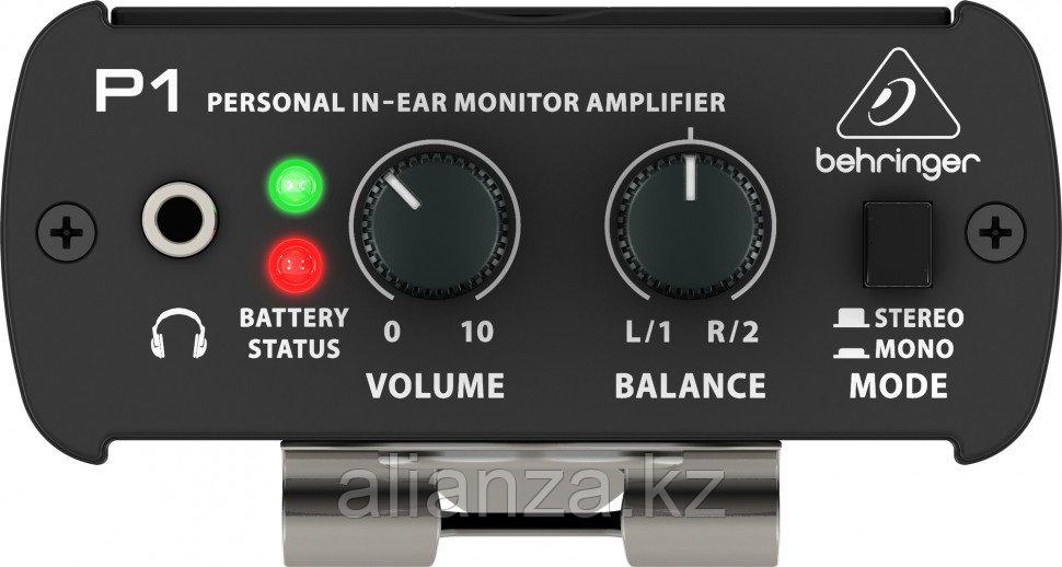Система персонального мониторинга BEHRINGER P1