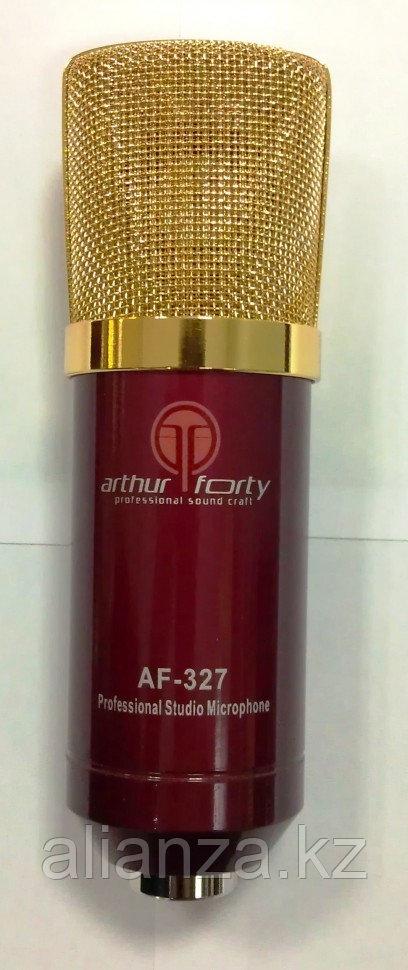 Микрофон студийный конденсаторный Arthur Forty AF-327 Red
