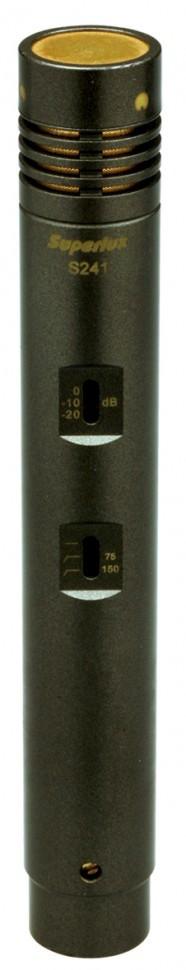 Микрофон студийный конденсаторный SUPERLUX S241/U3